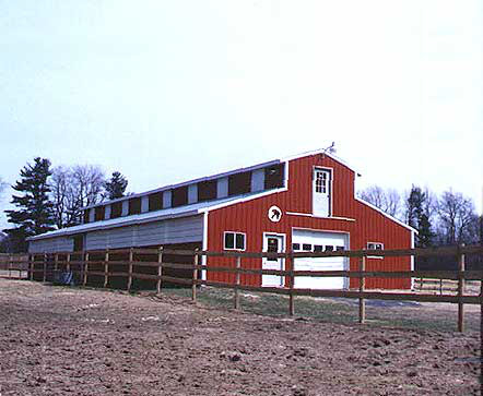 Livestock Building Post Frame Pole Barn Metal Building