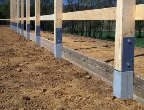 Post Frame Construction Building Foundations – New York Pole Barns